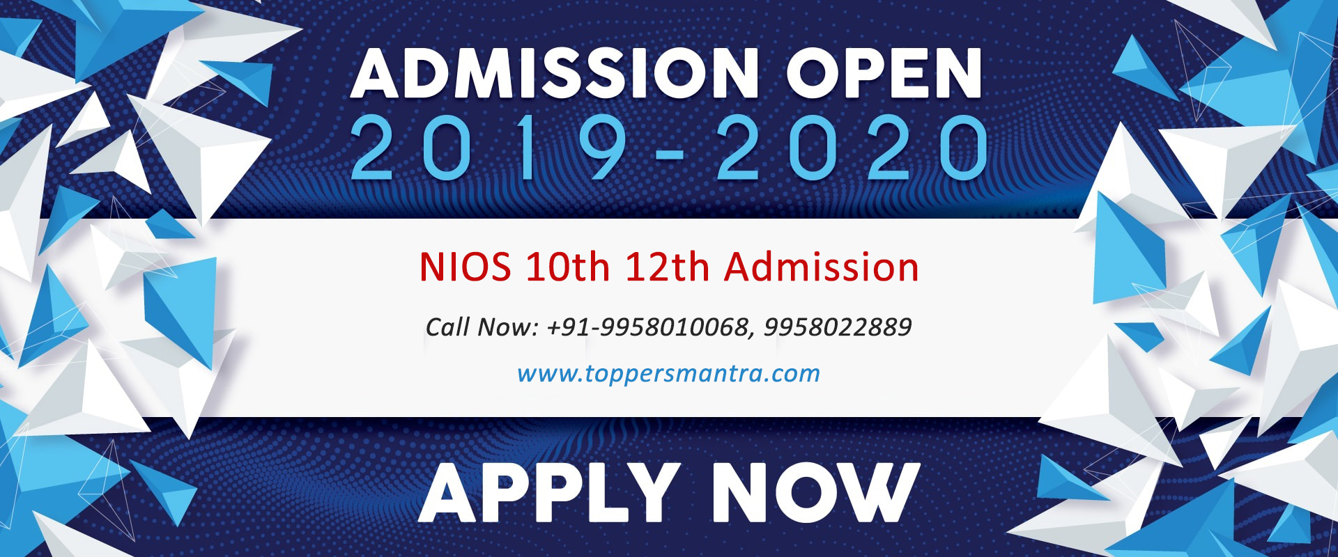 NIOS 10th 12th Admission