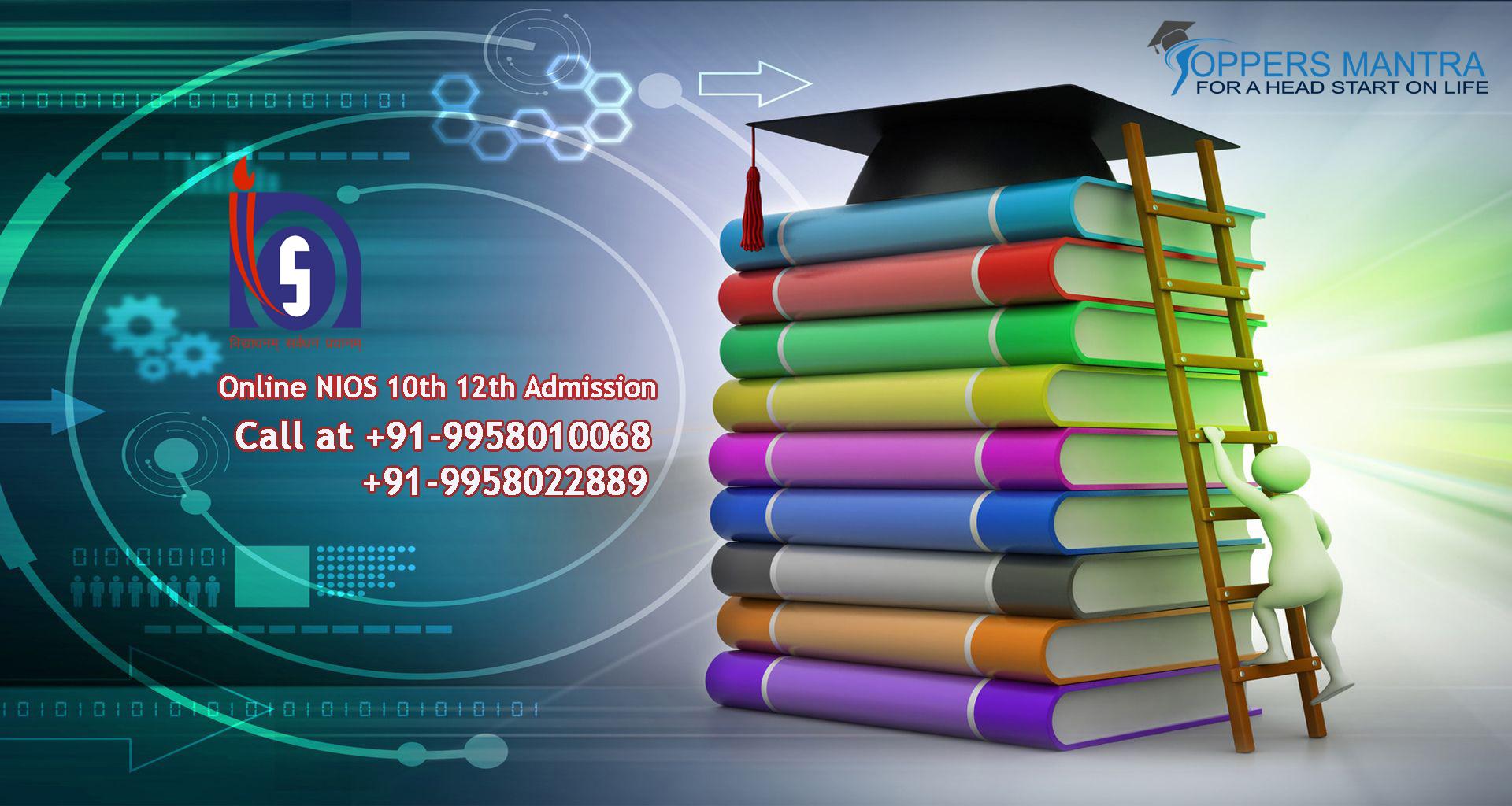 NIOS 10th 12th Admission Bihar