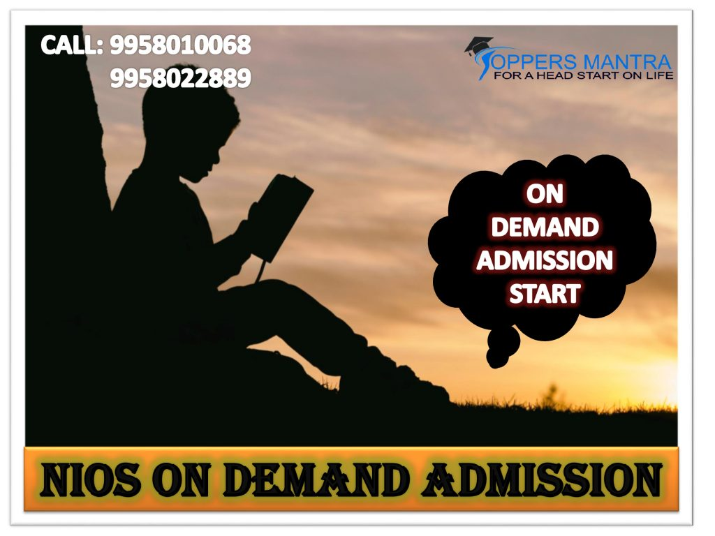 Nios-Admission-On Demand-Public Exams-Toppers-Mantra